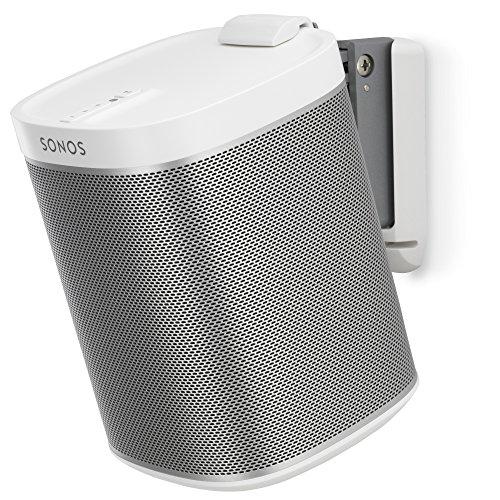 Flexson Wandhalterung für Sonos PLAY:1 mit Befestigungssatz , 1 Stück, weiß