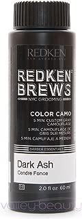 Redken For Men 5 Minute Color Camo - Dark Ash 3 bottles 2oz each