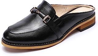 کفش مخصوص دویدن زنانه ماسا چرمی توری سوراخ دار آکسفورد Brogue Wingtip Derby Saddle