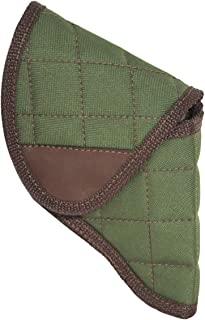 Barsony New Woodland Green Flap Holster for Snub Nose 2