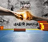Wandbild Tapete Boxen Faust Fitness Poster Raum Hintergrund