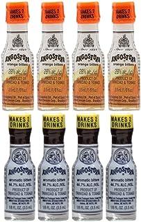 Angostura Miniatures Mix Pack Classic Bitters & Orange Bitters 8 x 3.5ml (4 x 3.5ml of each flavour)