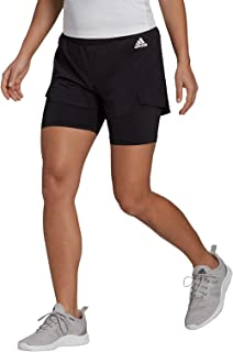 adidas womens 2in1 SHORTS Shorts