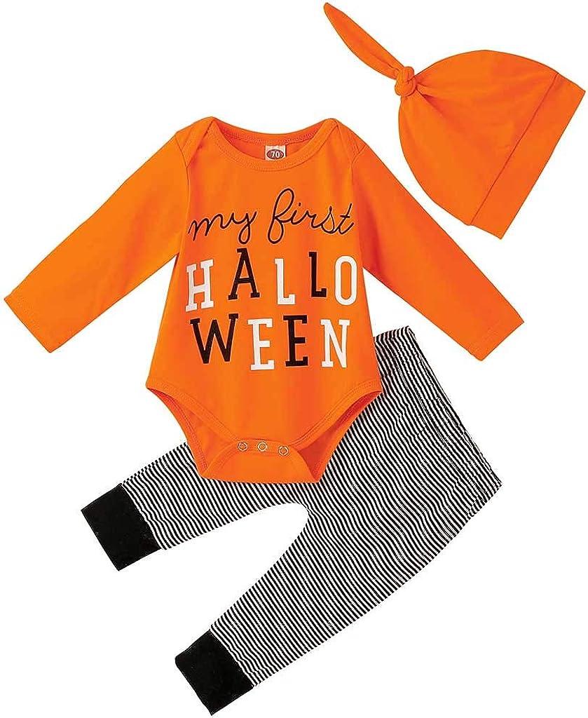 Franterd 3PCS Halloween Outfits Baby Gorgeous Boy safety Girl Newborn
