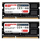 Komputerbay MACMEMORY 8GB (2X 4GB) DDR3L PC3L-12800 1600MHz SODIMM DDR3 204-Pin Laptop Memory for Apple Mac 1.35V