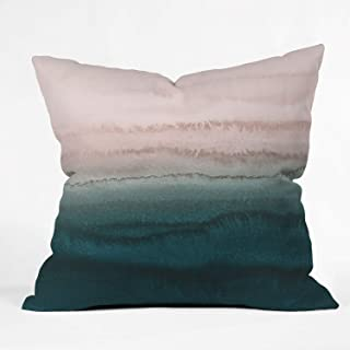 "Society6 Monika Strigel Within The Tides Early Sun Throw Pillow, 16""x16"", Multi"