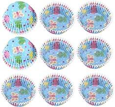 Tasse à gâteau doublée de cupcake sans décoloration pour anniversaire pour quiche