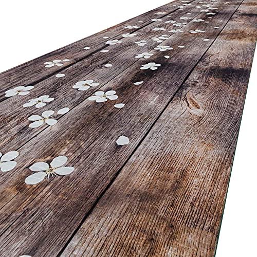 Alfombra para cocina, alfombra de cocina, alfombra de pasillo, alfombra de cocina, lavable, antideslizante, 200 x 52 cm