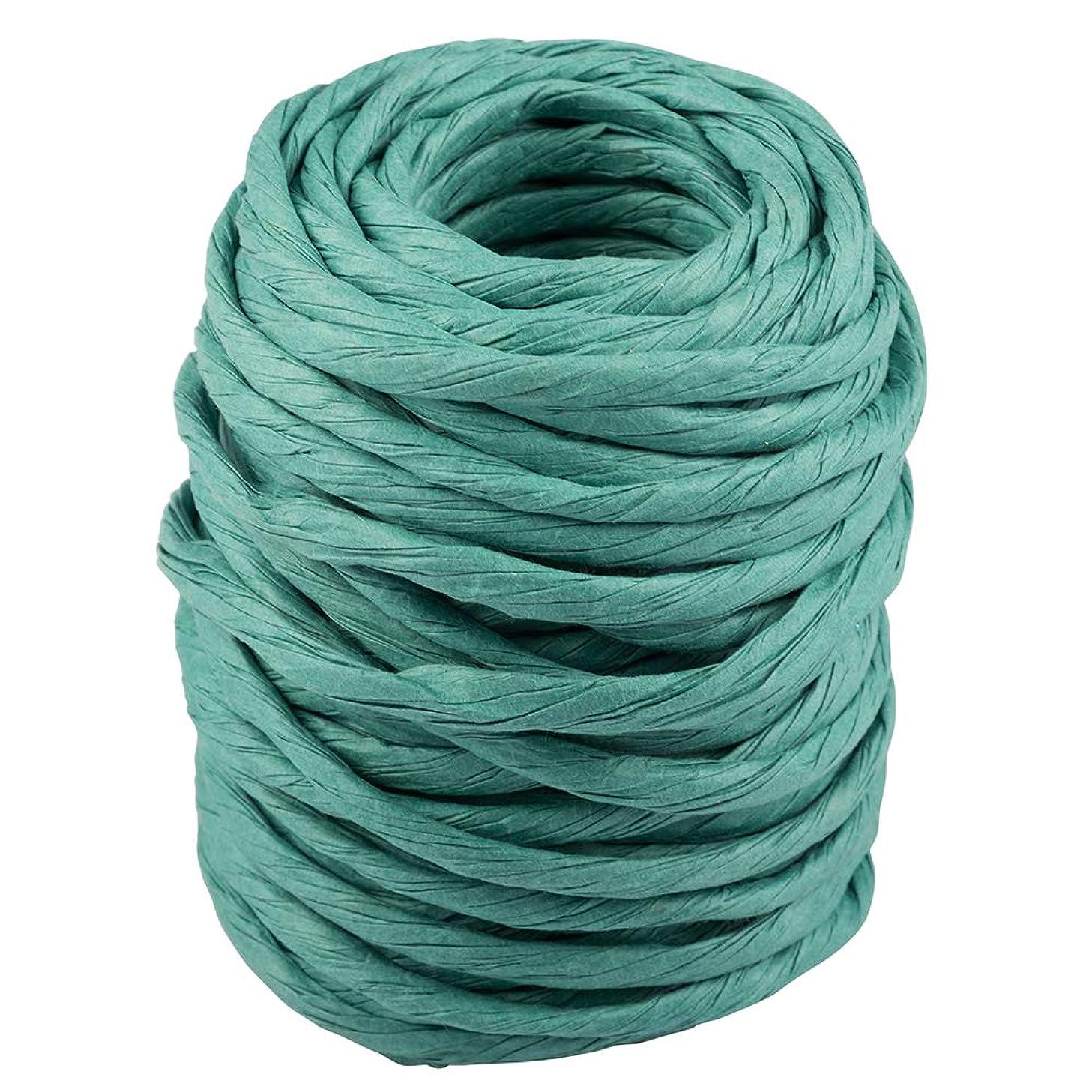 JAM Paper Twisted Kraft Ribbon - 25 Yards - Green - Sold individually