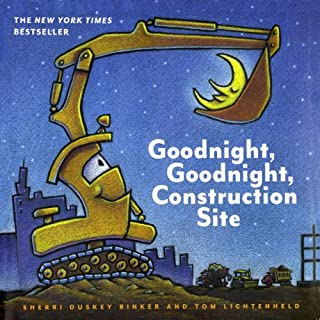 Goodnight, Goodnight, Construction Site audiobook cover art
