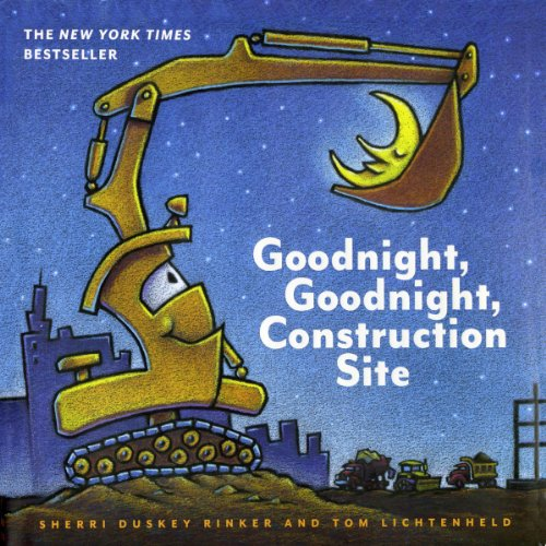 Page de couverture de Goodnight, Goodnight, Construction Site