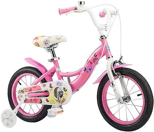 venta al por mayor barato ZLMI Bicicleta para Niños, Niños, Niños, Bicicleta de Montaña para niñas de 3 a 6 años de Edad, Bicicleta para bebés, Escuela Primaria, Niño y Niño, Juguete, Coche, 14 Pulgadas  tomar hasta un 70% de descuento