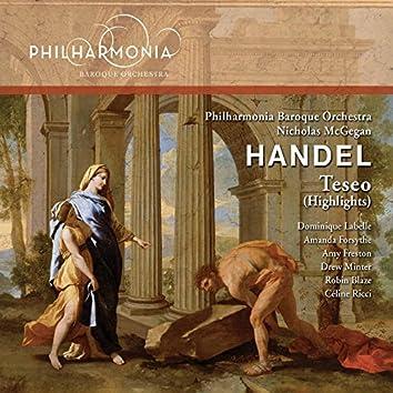 Handel: Teseo, HWV 9 (Highlights)
