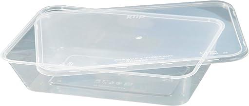 Kiip SLappeR 500ml×25個(本体・kiip共通フタセット・1パック)【冷凍保存・電子レンジ・食洗機対応タッパー=おまとめ買い・食品保存・テイクアウト・業務用】