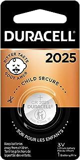 Duracell – Bateria de lítio 2025 3V – com revestimento amargo – 1 unidade