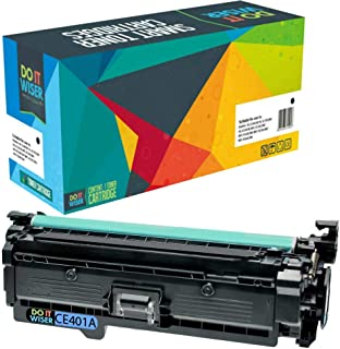 Do it Wiser Remanufactured Toner Cartridge Replacement for HP 507X HP 507A CE401A HP LaserJet Enterprise M551n M551dn M551xh M570dw M570dn M575c M575dn M575f (Cyan)