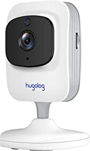 Home Security Camera, WiFi Camera1080P HD, Indoor Camera for Home Security with Motion Detection, 2-Way Audio, Night Vision, USA Cloud Storage & SD Slot