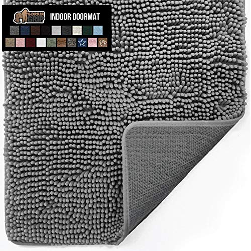 Gorilla Grip Original Indoor Durable Chenille Doormat