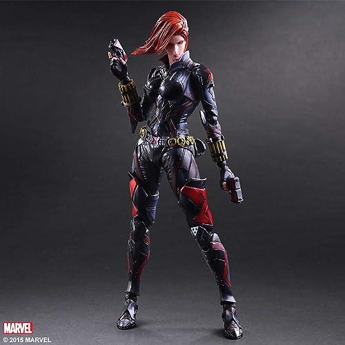 Anime Hand, um Marvel Play Arts zu starten, um PA in Avengers zu verwandeln. 2 Schwarz Witwen k en das