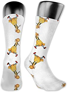 Dydan Tne, Calcetines de Tela de tulipán del niño de Las Flores (Libro para niños), Calcetines Lindos adorables de Animales de Dibujos Animados de Novedad