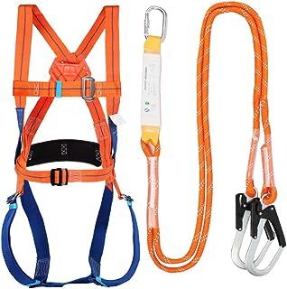 GBHJJ Säkerhetsselar, säkerhetssele fallskydd, fallskyddssele, 1 D-ring industriellt fallskyddsbälte, för takverktyg för b...