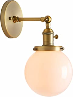 Best vintage brass wall sconce Reviews
