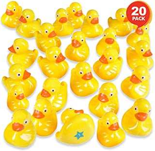 Gamie Plastic Duck Matching Game, Includes 20 Ducks with Numbers & Shapes, Memory Game for Kids, Fun Educational Learning Toys for Preschoolers, Develops Memory, Concentration, & Number Recognition