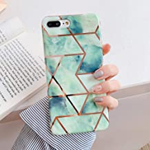 Geometric Marble Phone Cases for iPhone 11 Pro Max XR XS Max 6 6S 7 8 Plus X Soft IMD Electroplated Back Cover Coque,m,for iPhone11 Pro Max