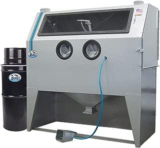 TP Tools USA 2858 Skat Blast Sandblast Sandblasting Cabinet with HEPA Vacuum, 58