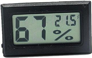 XYXZ Termómetro De Habitación Higrómetro Medidor De Temperatura Y Humedad Electrónico para Interiores Y Exteriores Medidor...