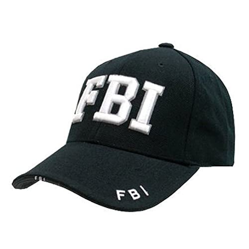 babf8f673e2 Mens Mlitary Combat Black SWAT FBI SECURITY ARMY Baseball Cap Hat Sun Visor  New