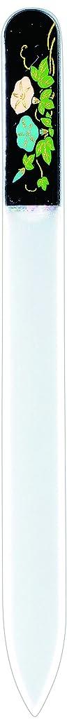 ペレグリネーション人気の加害者橋本漆芸 ブラジェク製高級爪ヤスリ 七月 朝顔 OPP