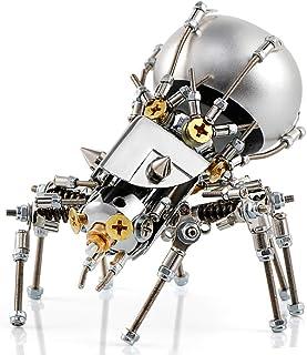 SAVWAY Metal 3D Puzzle with Bluetooth Speaker JS-001 Mecha Model Kits Toy Building Set Metal Spider Models