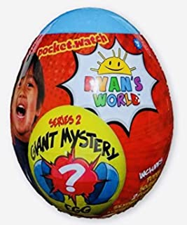 Bliss Kids Toddlers Ryan's World Blue Giant Mystery Egg Limited Edition