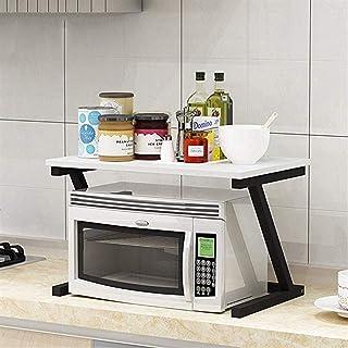 Gjrff Estante de la Cocina RackAlmacenamientoHorno de microondas Rackcondimento PlataformaModerno Minimalista Horno de...