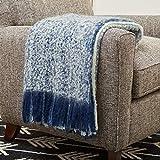 Amazon Brand – Rivet Super Soft Oversized Ombre Stripe Brushed Weave...