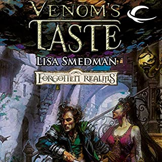 Venom's Taste     Forgotten Realms: House of Serpents, Book 1              By:                                                                                                                                 Lisa Smedman                               Narrated by:                                                                                                                                 John Pruden                      Length: 9 hrs and 50 mins     24 ratings     Overall 4.3