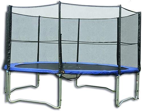 mejor vendido Tactic Sport Set  Cama elástica, 396 cm de diámetro, diámetro, diámetro, Incluye rojo de Seguridad.  descuento online