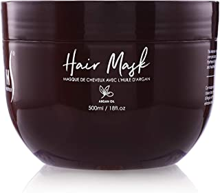 Herstyler Argan Hair Oil Mask - Deep Conditioning Mask For Limp Dull Hair - Hair Mask For Dry Damaged Hair - Anti-Frizz Hair Mask - Enjoy Stimulating Hair Benefits With This Hair Repair Mask