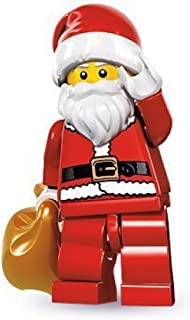 Best LEGO Series 8 Collectible Minifigure - Santa with Toy Sack Review