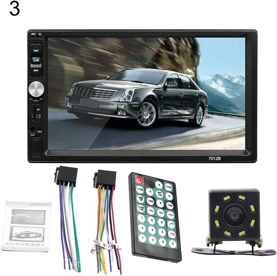 2 Grebest Car Player Car Intelligent System Touchscreen 7012B 1080P HD 7inch Car Radio Stereo Bluetooth MP4 MP5 USB Player Touchscreen