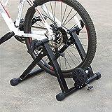 GWZSX Entrenador de Bicicleta de Servicio Pesado Soporte de Entrenador de Bicicleta Estable Soporte de conducción silencioso, Adecuado para Bicicletas de montaña y Carretera- A