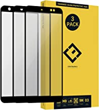 Screen Protector Replacement for Asus ZB555KL -(3 Pack) Ultra-Thin Anti-Scratch Clear Full Coverage Silk Print Tempered Glass Protective Film Compatible with Asus ZenFone Max M1 ZB555KL 5.5 inch