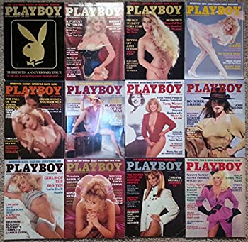 Playboy Magazine 1984 Lot Entire Year 12 Issues January Through December
