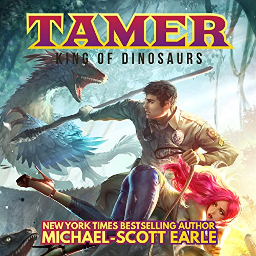 Tamer: King of Dinosaurs audiobook cover art