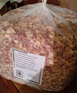 Wood-Hawk Aromatic Red Cedar Wood Shavings. 100% All Natural. 8 lbs or 4 lbs or 2 lbs of Shavings. Made in The USA!