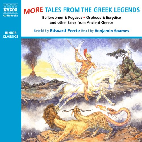 More Tales from the Greek Legends audiobook cover art