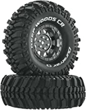 Duratrax Deep Woods RC Rock Crawler Tires with Foam Inserts, C3 Super Soft Compound, High Traction, 1.9