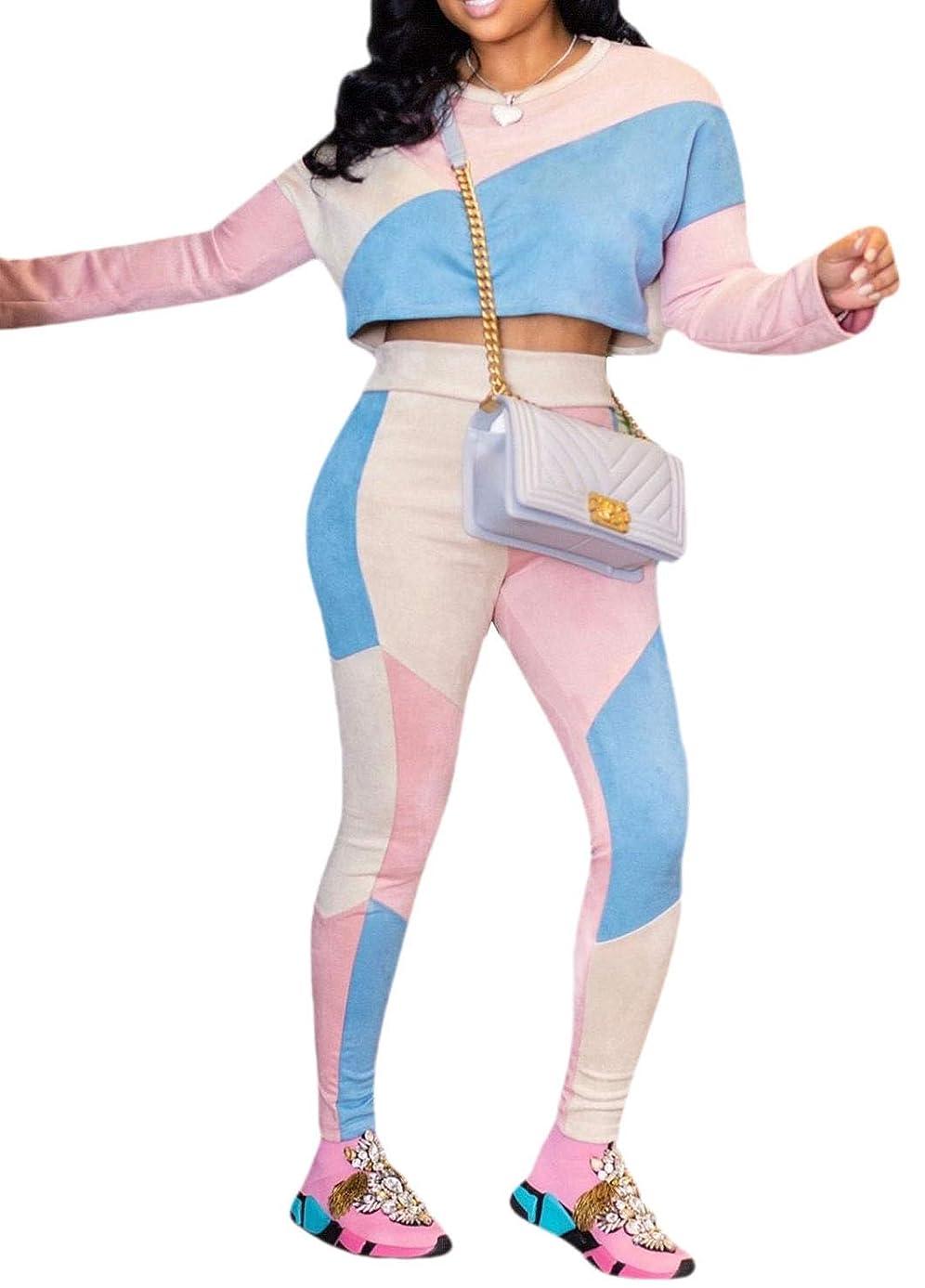 スタウト剥ぎ取る不安Women's Western Plaid Two Pieces Outfits Fashion Long Jumpsuits Jumpsuits