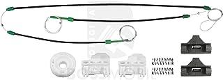 NO LOGO ZWQ-Handle 2PCS Front Izquierda Derecha Maneta de Puerta con 2 Teclas de la Misma for Polo 6N 6N1 6N2 Sharan Seat Alhambra Galaxy